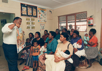 EWS Community Education: Photo Credit: eThekwini Water and Sanitation