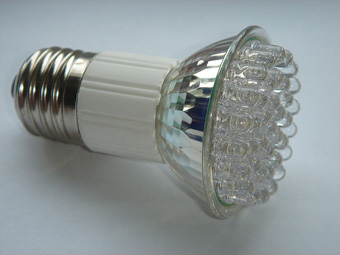 LEDs do not contain mercury and have other advantages such as long life and low heat generation.: A light-emitting diode (LED) is a semiconductor light source. LEDs are used as indicator lamps in many devices and are increasingly used for other lighting. Introduced as a practical electronic component in 1962, early LEDs emitted low-intensity red light, but modern versions are available across the visible, ultraviolet, and infrared wavelengths, with very high brightness. Text and image courtesy of Wikipedia