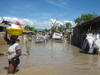 """We're acutely aware that poverty, ill-health, and environmental degradation go hand-in-hand. Haiti's widespread deforestation,: and the devastating floods that have resulted, are an oft-cited example."" Text and photograph courtesy of Partners In Health"