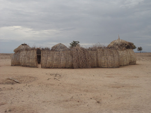 A typical Turkana homestead.: Photograph © UNESCO/Nairobi Office