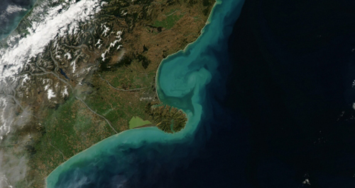A powerful storm passed over New Zealand's South Island in March 2014 and brought gale-force winds,: torrential rains, and flooding to the city of Christchurch. A total of 74 millimeters (3 inches) of rain fell on March 4-5, according to MetService, New Zealand's national meteorological service. More than 100 homes flooded and more than 4,000 lost power around the country's third most populous city. Skies had cleared enough by March 6, 2014, for the Moderate Resolution Imaging Spectroradiometer (MODIS) on NASA's Aqua satellite to acquire this image showing the aftermath. Coastal communities are becoming increasingly vulnerable to the risk of damage and danger from flooding. NASA and NOAA are together launching a new opportunity for citizens to work with us on the very important topic of coastal flooding. This coastal flooding challenge is part of NASA's third International Space Apps Challenge - a two-day global mass collaboration event on April 12-13, 2014. During these two days, citizens around the world are invited to engage directly with NASA to develop awe-inspiring software, hardware, and data visualizations. Last year's event involved more than 9,000 global participants in 83 locations. This year will introduce more than 60 robust challenges clustered in five themes: asteroids, Earth watch, human spaceflight, robotics, and space technology. The Coastal Inundation In Your Community challenge is one of four climate-related challenges using data provided by NASA, NOAA and EPA. > 2014 International Space Apps Challenge: Coastal Inundation in Your Community > NASA Invites Citizens to Collaborate on Coastal Flooding Challenge Photograph by: NASA - Jeff Schmaltz, LANCE/EOSDIS MODIS Rapid Response Team at NASA GSFC