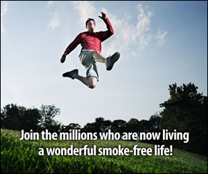 Smoke Free: Photograph courtesy of the CDC